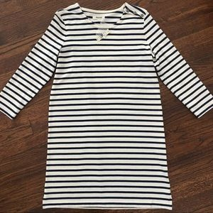 Madewell NEW with tags striped dress